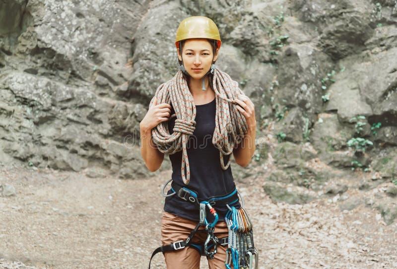 Arywista kobieta z arkaną fotografia stock