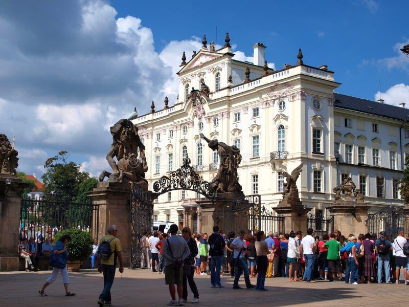 Arzobispo Palace, Praga, República Checa fotografía de archivo libre de regalías