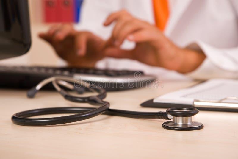 Arzt lizenzfreies stockbild