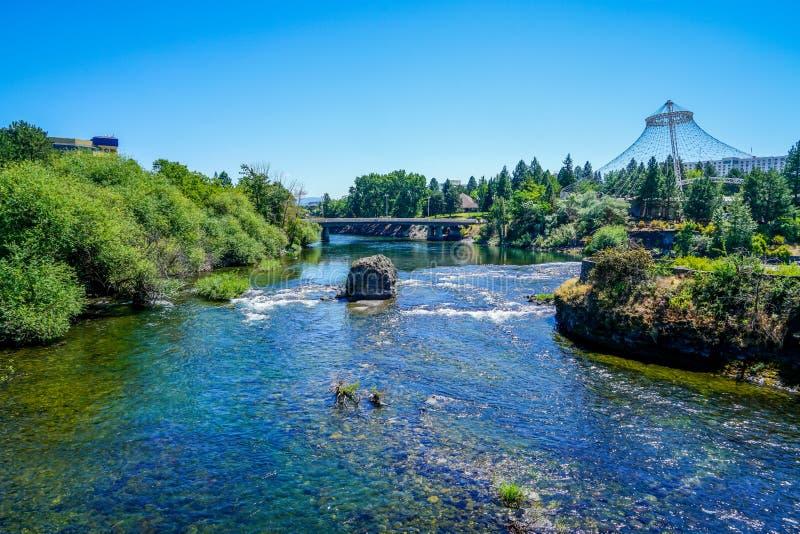 As águas gasosas dos rios fotografia de stock royalty free