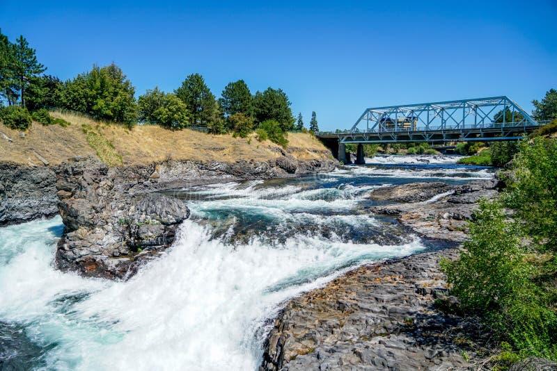 As águas gasosas dos rios foto de stock royalty free