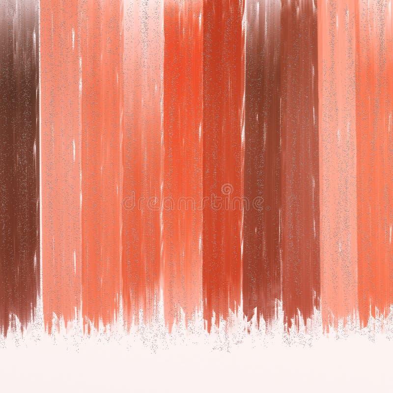 As amostras de folha de brilho da cor projetam Cor metálica granulado dispersada no fundo vibrante Projeto textured da telha abst imagem de stock royalty free
