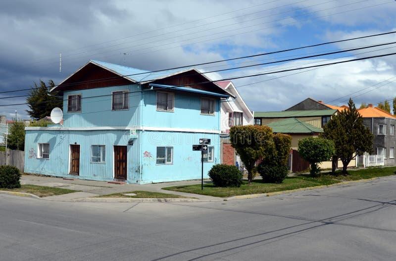 As arenas de Punta são uma cidade no Chile foto de stock