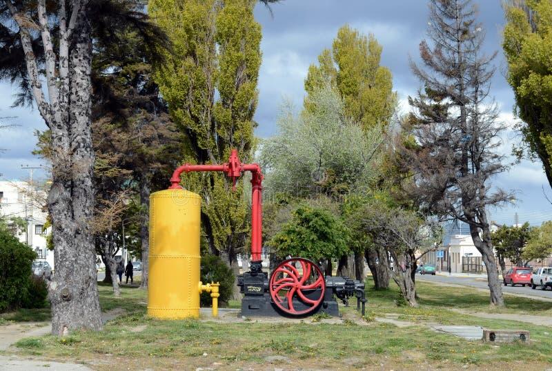 As arenas de Punta são uma cidade no Chile fotos de stock