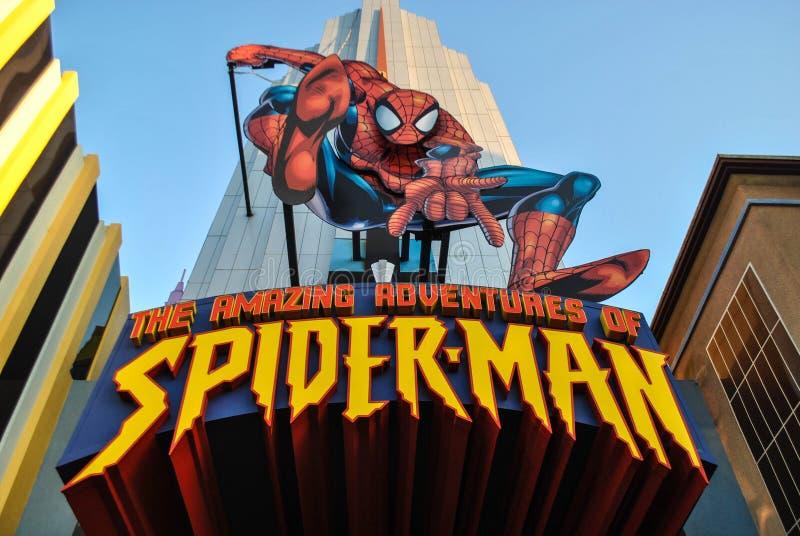 As aventuras surpreendentes do homem-aranha imagens de stock royalty free