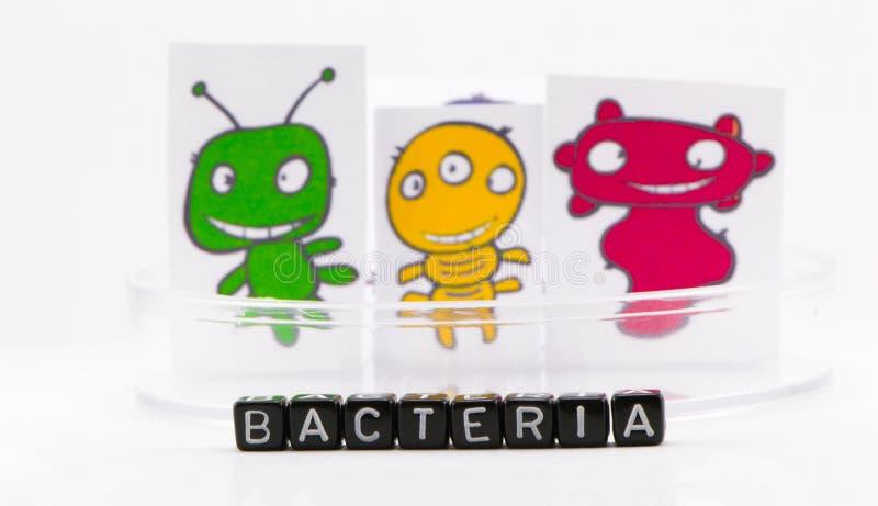 As bactérias fotografia de stock royalty free