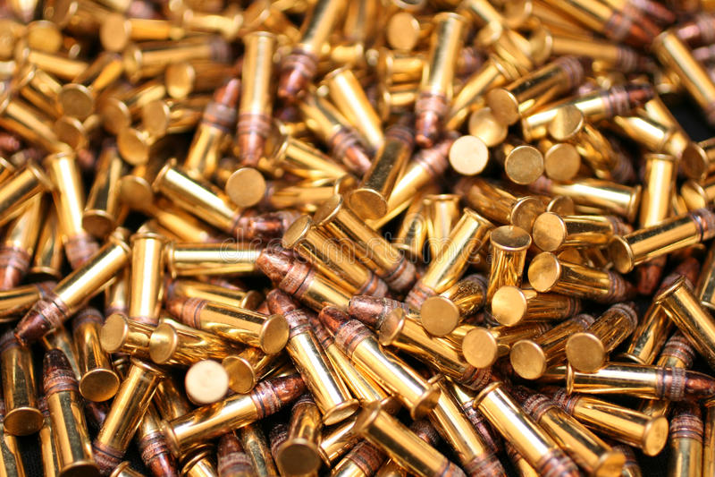 As balas fecham-se acima fotografia de stock royalty free