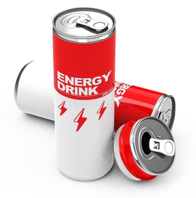 As bebidas da energia ilustração royalty free