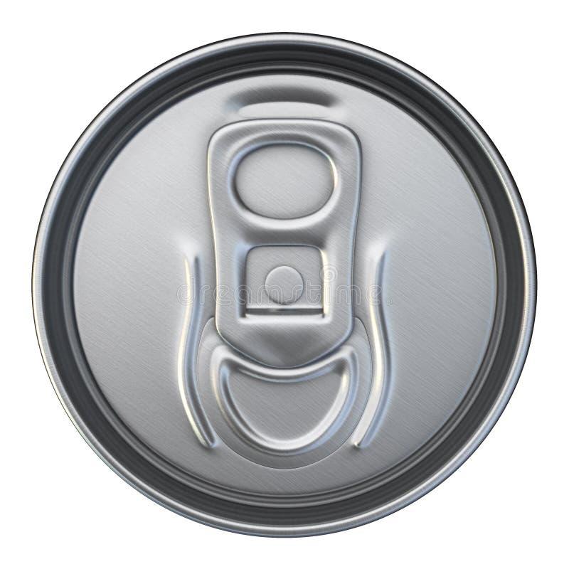 As bebidas podem colocar ilustração royalty free