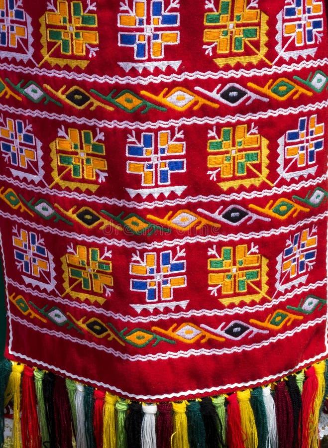 As camisas feitos a mão das senhoras bonitas de Bulgaria_2 fotografia de stock royalty free