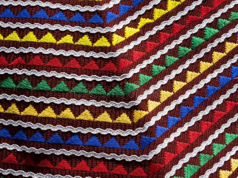 As camisas feitos a mão das senhoras bonitas de Bulgaria_3 foto de stock royalty free