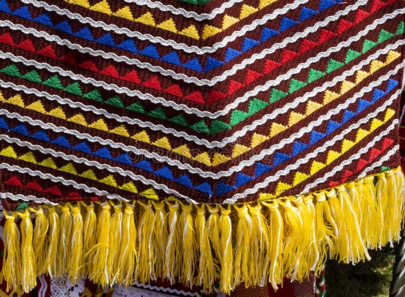 As camisas feitos a mão das senhoras bonitas de Bulgaria_4 fotos de stock