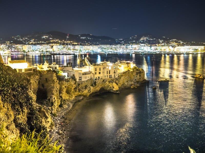 As casas de Ibiza foto de stock royalty free