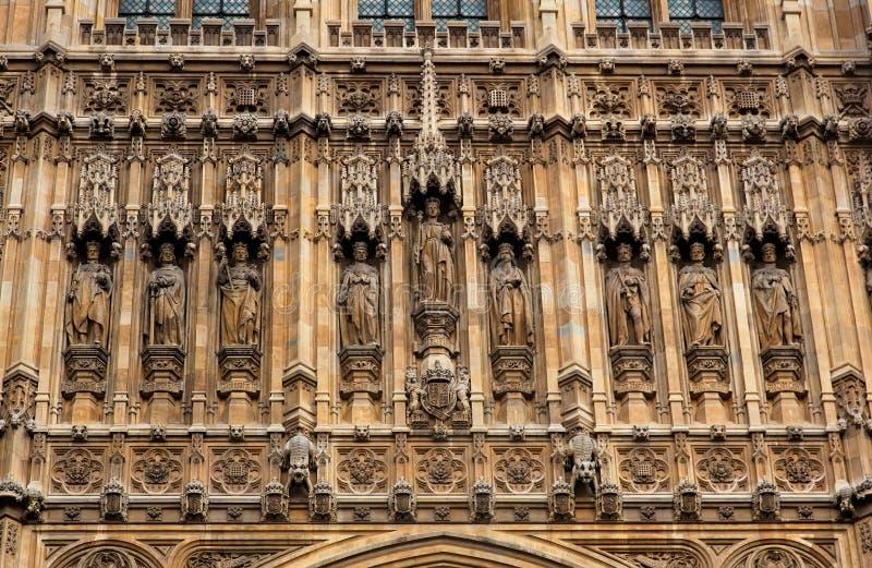 As casas do parlamento. Londres. Reino Unido. fotos de stock royalty free