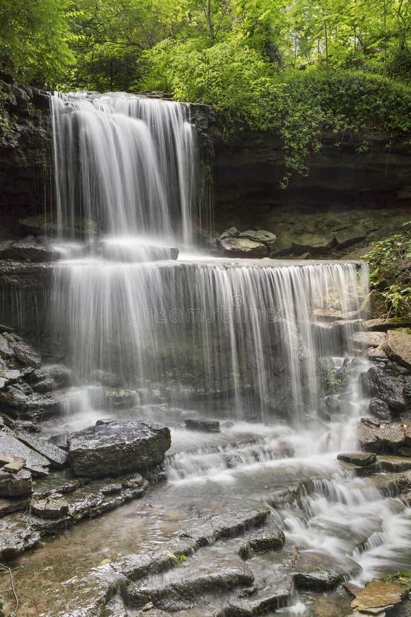 As cascatas em Milton ocidental fotografia de stock royalty free