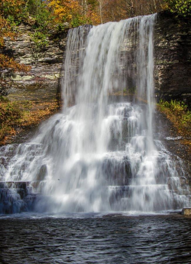 As cascatas, Giles County, Virgínia, EUA fotografia de stock royalty free