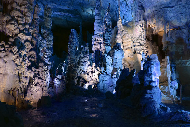 As cavernas fotografia de stock royalty free