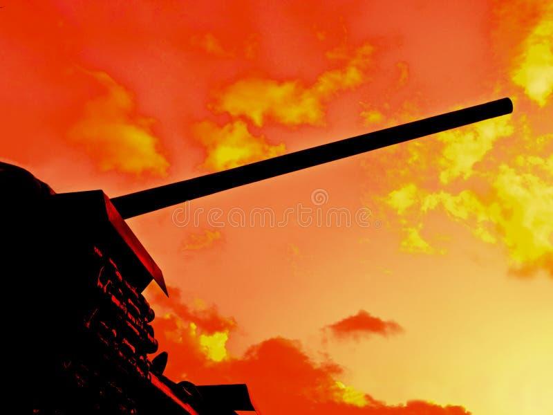 As chamas da guerra imagens de stock royalty free