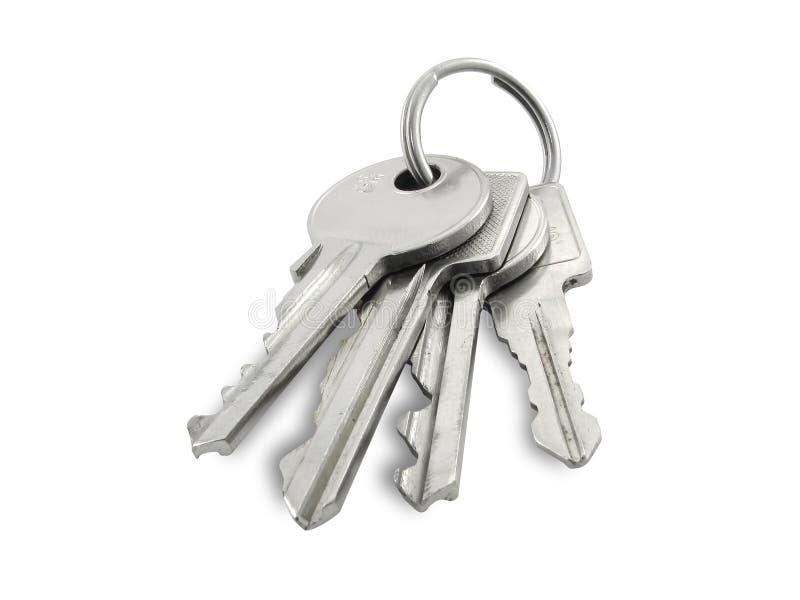 As chaves. imagem de stock