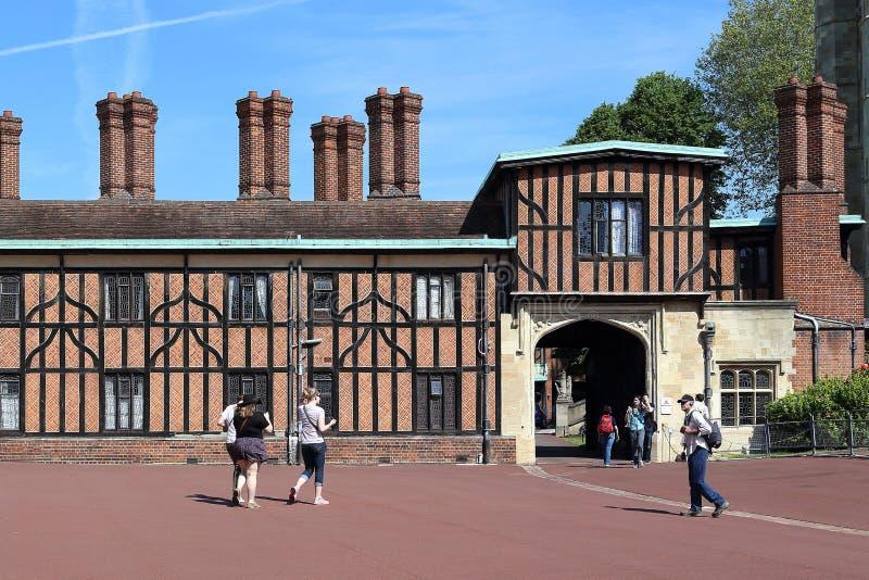 As construções do pátio mais baixo de Windsor Castle, Grea fotos de stock royalty free