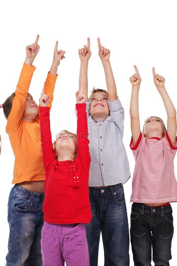 As crianças estão aparecendo imagem de stock royalty free
