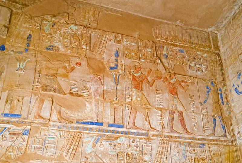 As decorações egípcias imagem de stock royalty free