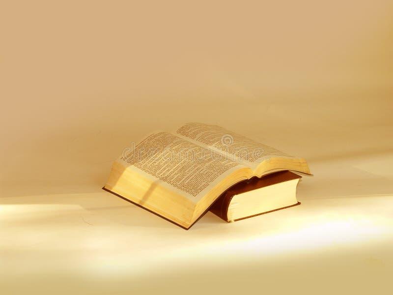 As duas Bíblias santamente fotografia de stock royalty free