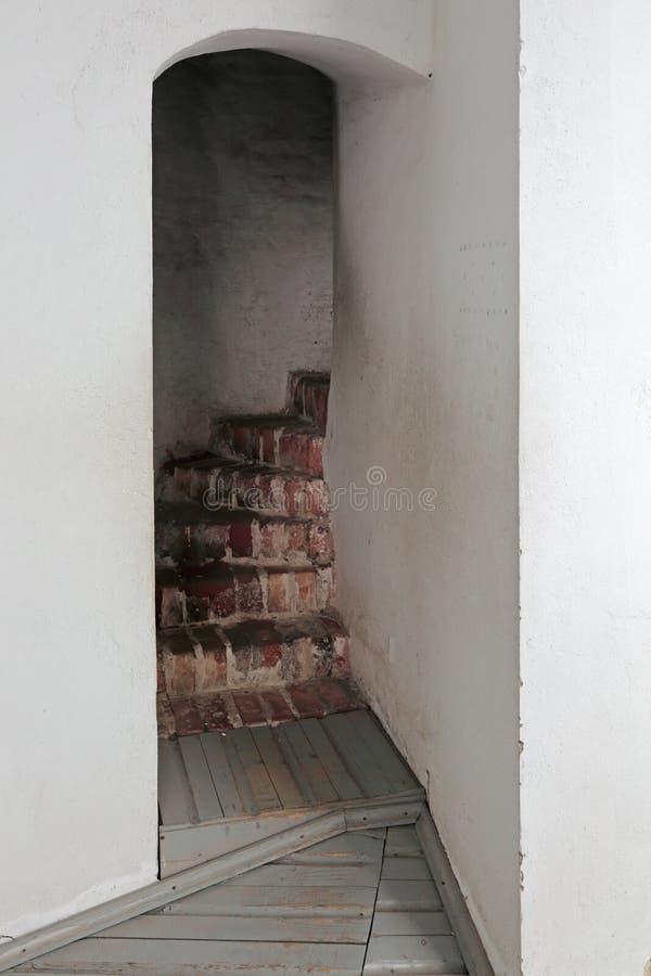 As escadas à torre de sino imagem de stock royalty free