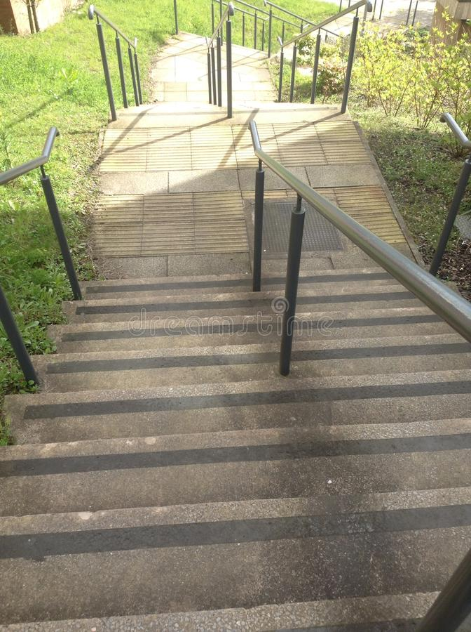 As escadas de USW foto de stock royalty free