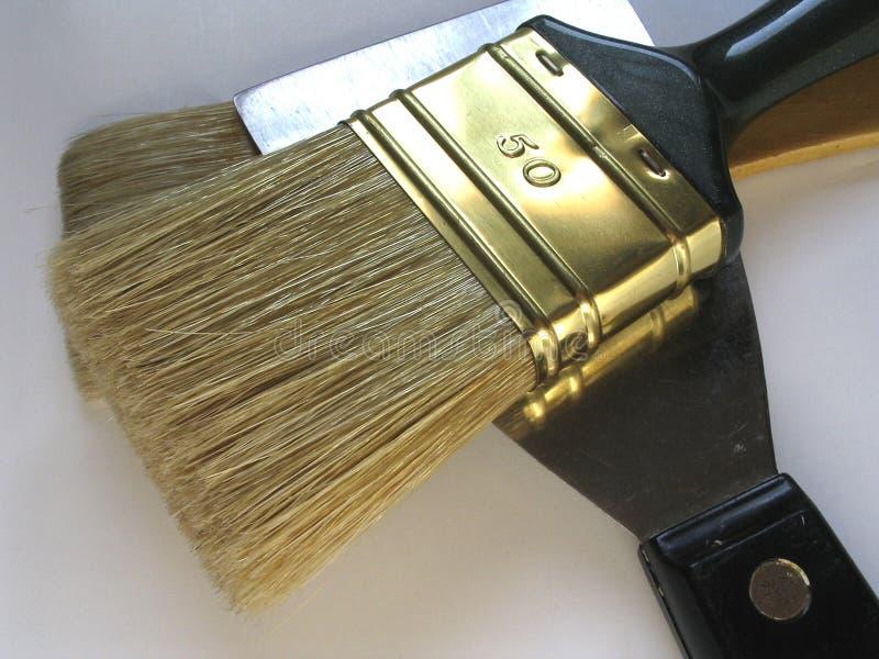 Download As escovas imagem de stock. Imagem de artista, moping, pincéis - 103037