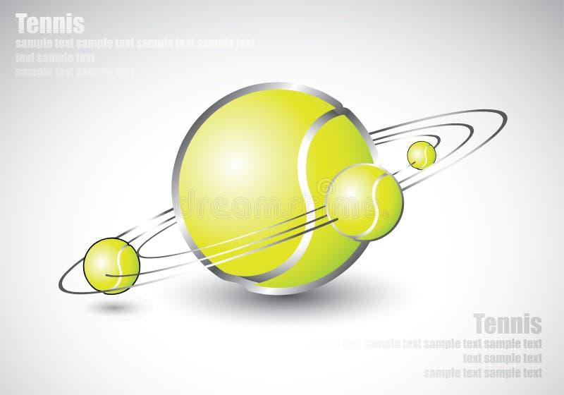 Download As Esferas De Tênis Deram Forma Como O Sistema Solar Ilustração do Vetor - Ilustração de competição, esporte: 26503164