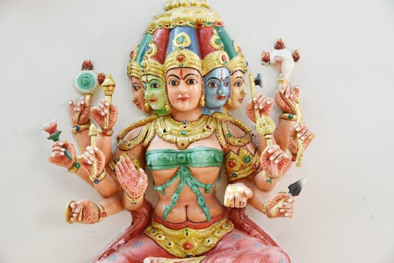 As estátuas Hindu em Batu desabam Kuala Lumpur Malaysia fotos de stock royalty free