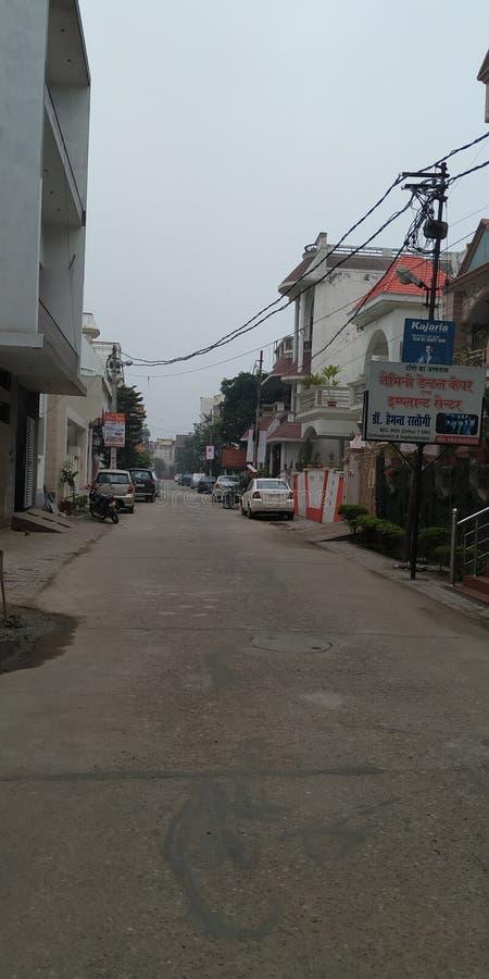 As faixas do distrito de Utar Pradesh na índia foto de stock royalty free