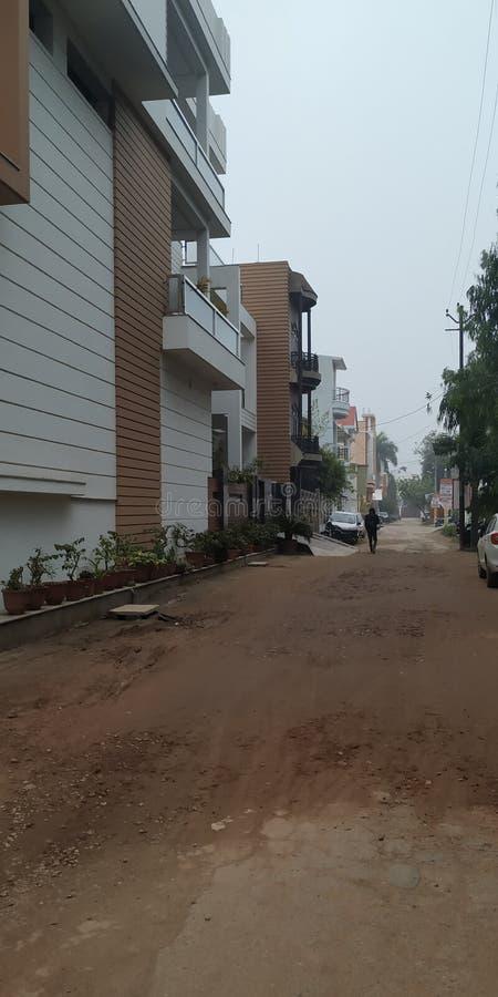 As faixas do distrito de Utar Pradesh na índia fotos de stock