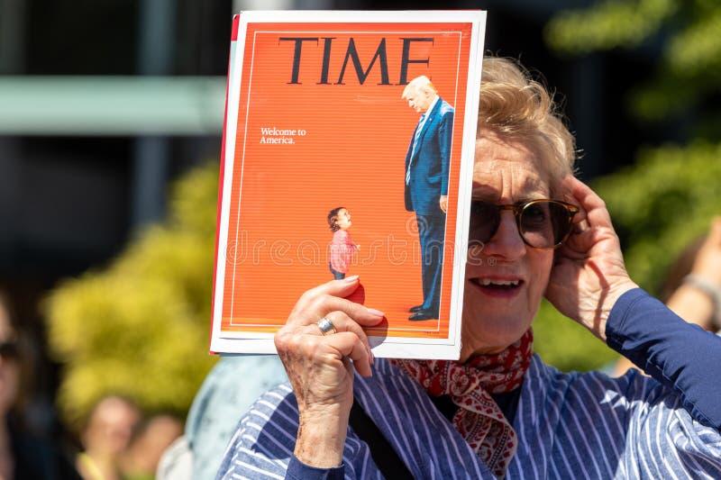 As famílias pertencem junto San Francisco fotos de stock royalty free