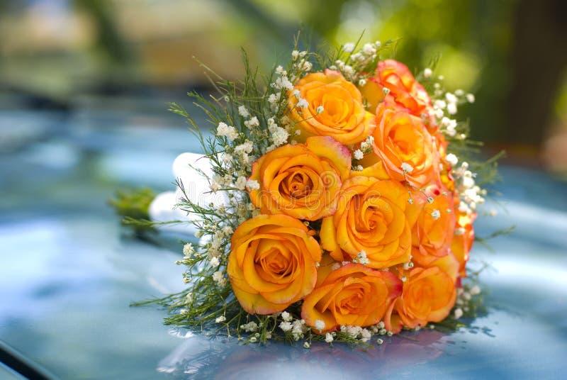 As flores da noiva foto de stock