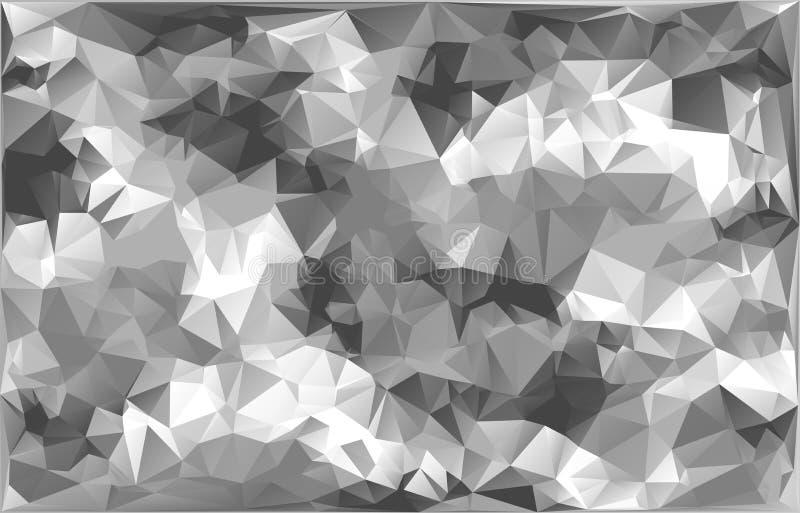 As forças armadas abstratas do vetor camuflam o fundo feito de formas geométricas dos triângulos Estilo poligonal ilustração stock