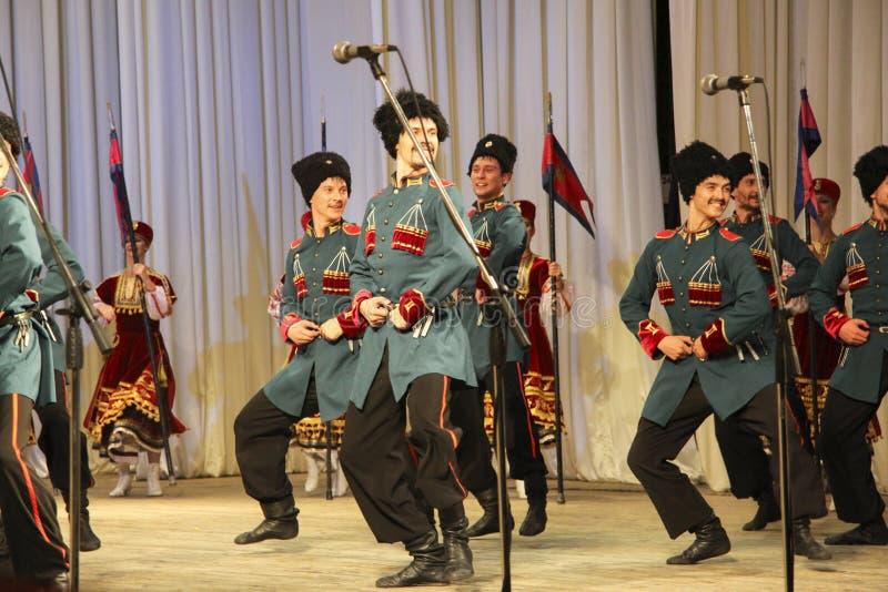 As forças armadas dançam imagem de stock royalty free