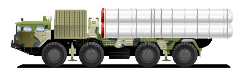 As forças armadas lanç o veículo ilustração do vetor