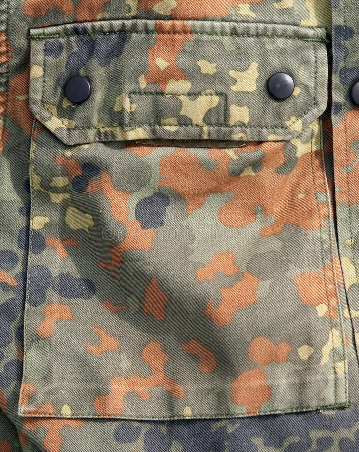 As forças armadas suportam o bolso fotos de stock