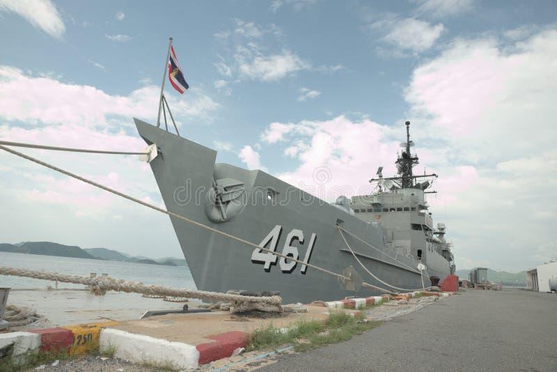 As forças armadas tailandesas enviam imagens de stock royalty free