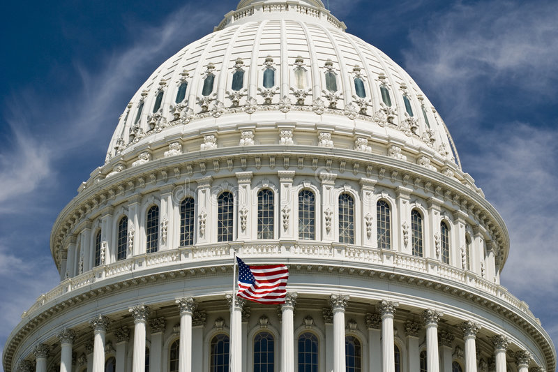 As geometria de Capitol Hill fotografia de stock royalty free