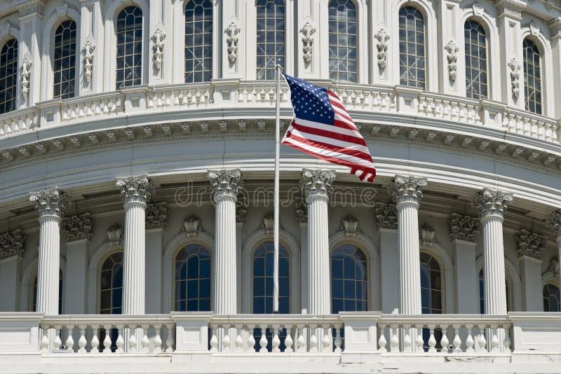 As geometria de Capitol Hill imagens de stock royalty free