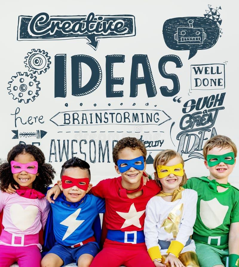 As ideias inspiram o conceito da motivação do pensamento criativo fotografia de stock royalty free