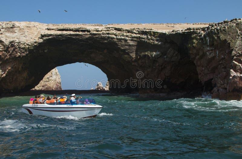 As ilhas de Ballestas imagens de stock royalty free