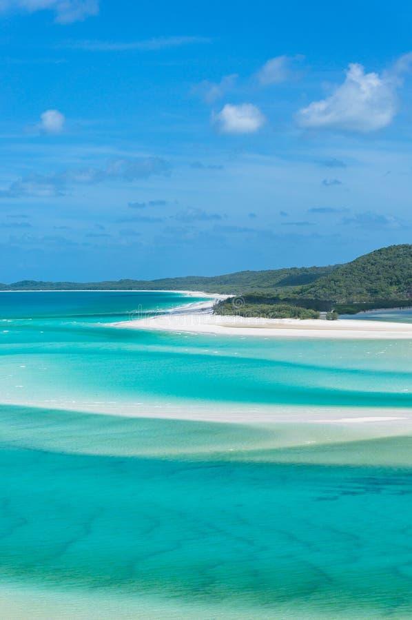 As ilhas do domingo de Pentecostes ajardinam Vista de acima fotografia de stock