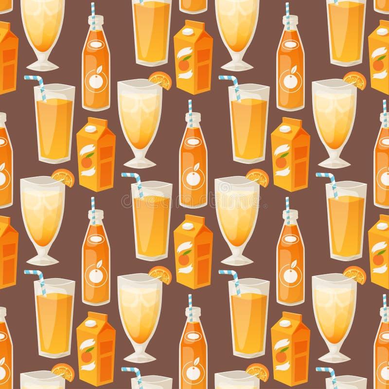 As laranjas e os produtos alaranjados vector da beleza tropical suculenta natural da sobremesa do vetor dos citrinos da ilustra?? ilustração royalty free