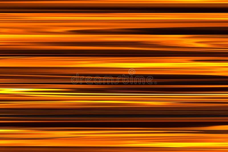 As linhas brilhantes do fundo brilhante da textura do fogo do teste padrão paralelizam, laranja da lona com o teste padrão natura foto de stock