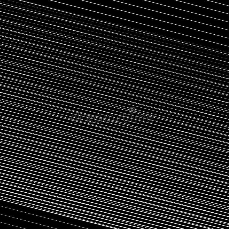 As linhas inclinadas dinâmicas, listras abstraem a arte geométrica Oblíquo, ilustração stock