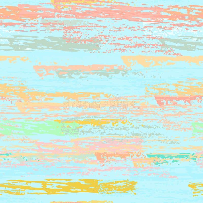 As listras do Grunge alinham Texturas do giz ilustração royalty free